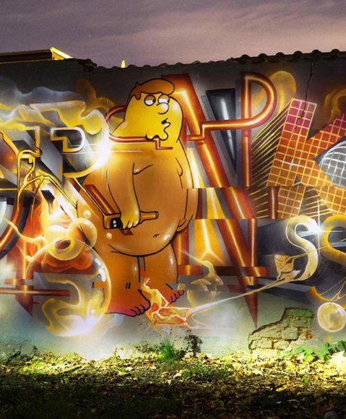 Drinksss / Mural / 2017