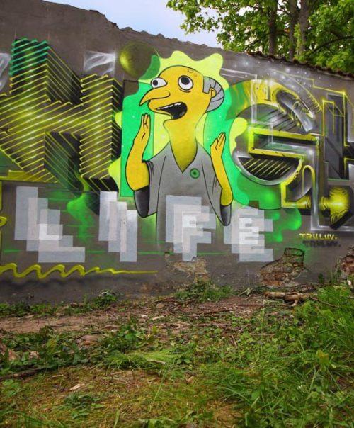 High On Life / Mural / 2017