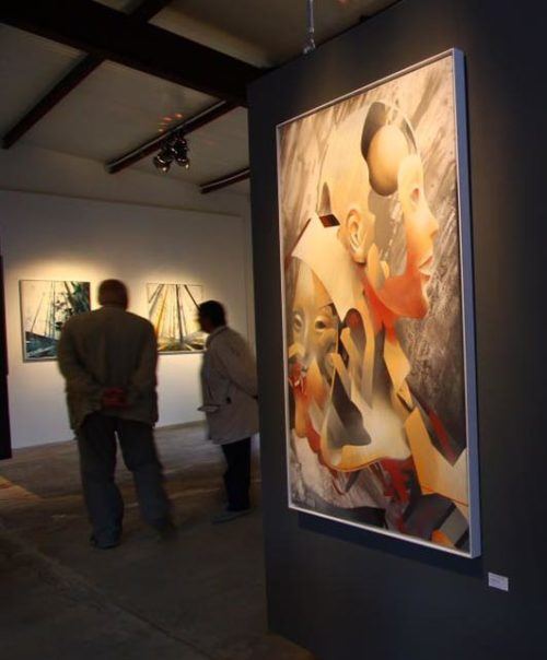 Moll Bond Jahn / Groupshow @ Jahn Galerie, Leipzig / Germany