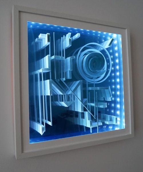 @home / infinity mirror sculpture series