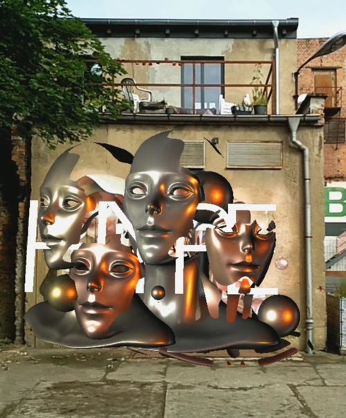 Augmented / Mixed Reality Graffiti / Art