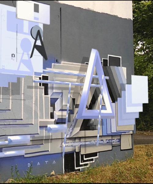 Augmented / Mixed Reality Graffiti / Art