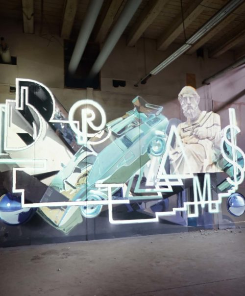 Dreams / Video Mapping /@Monumenta Leipzig
