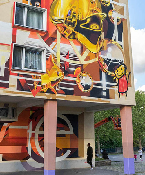 @Home / Mural / Hagen, Germany 2019